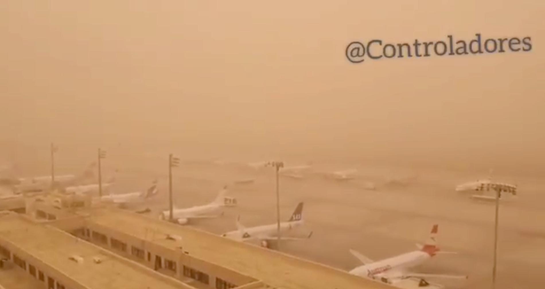 Flygplatsen på Gran Canaria.
