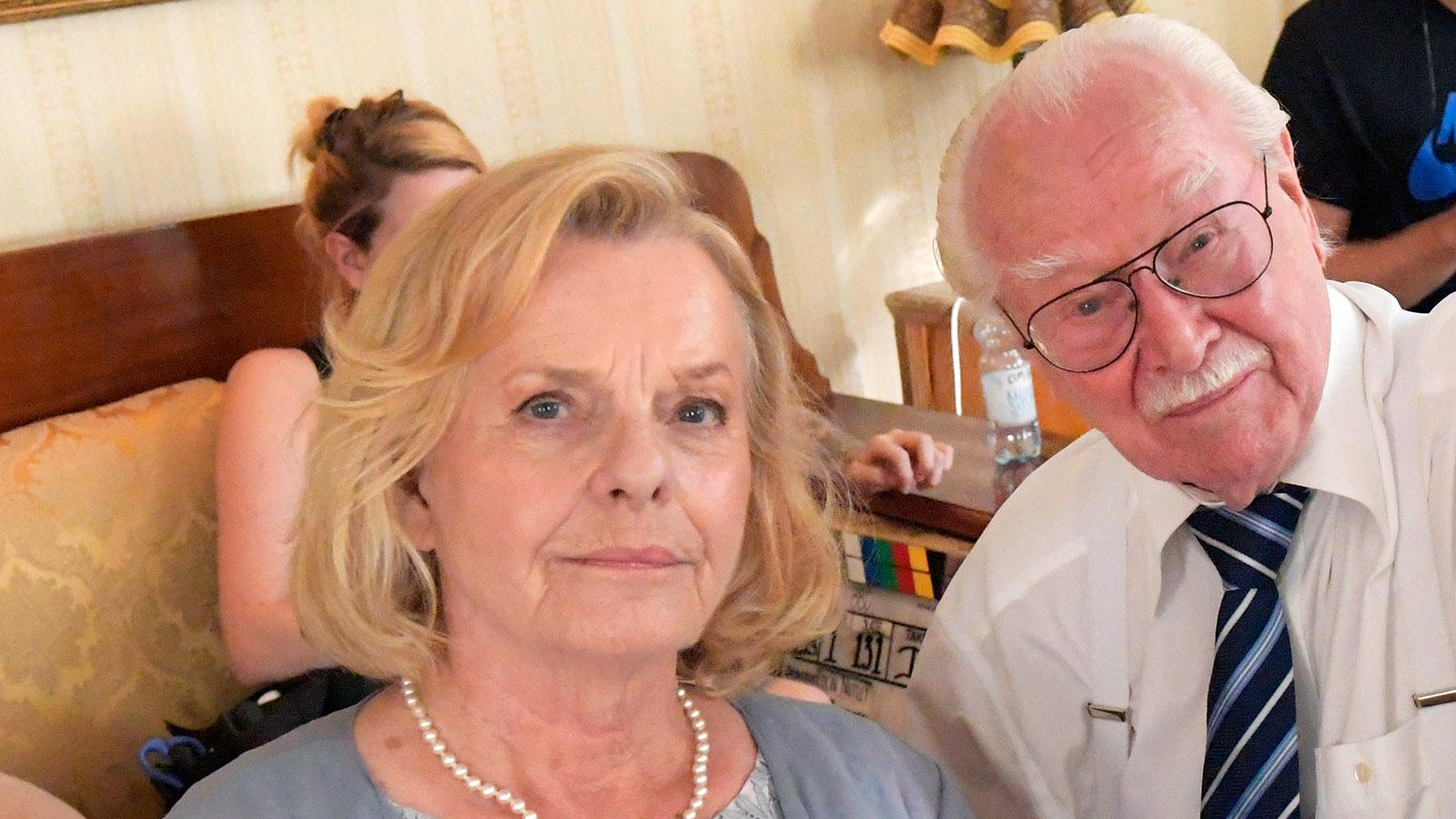 Marie Göranzon med make Jan Malmsjö.