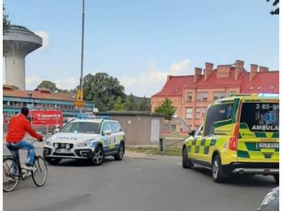 Flera till sjukhus efter våldsbrott i Kristianstad.