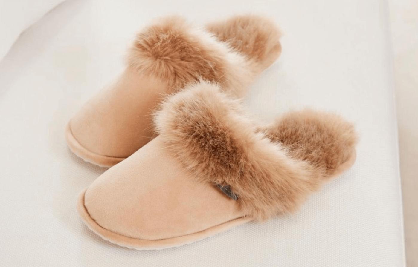 Skönt material på fötterna.