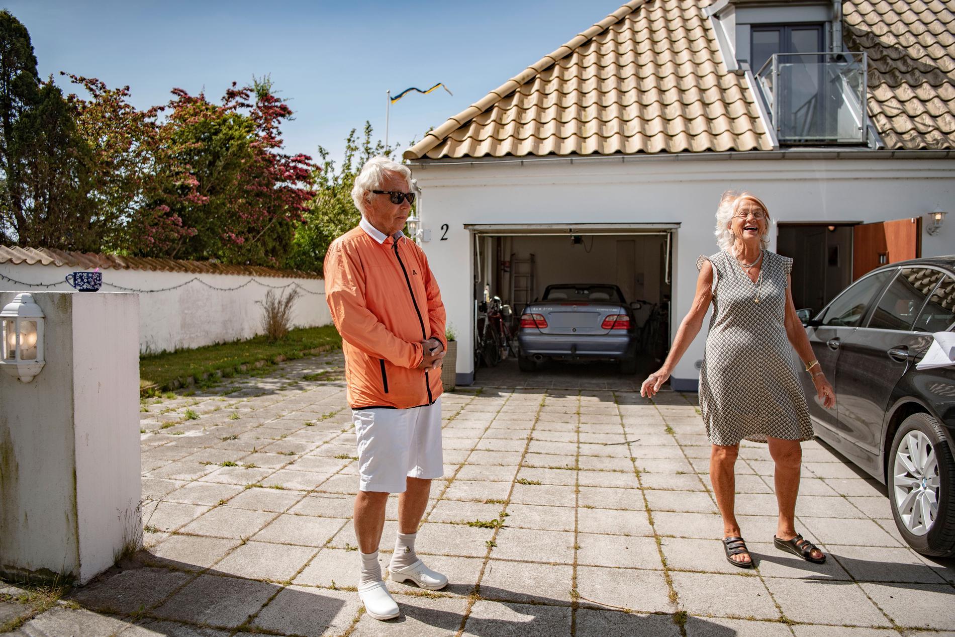 Jan Wieslander och hans fru Maria.