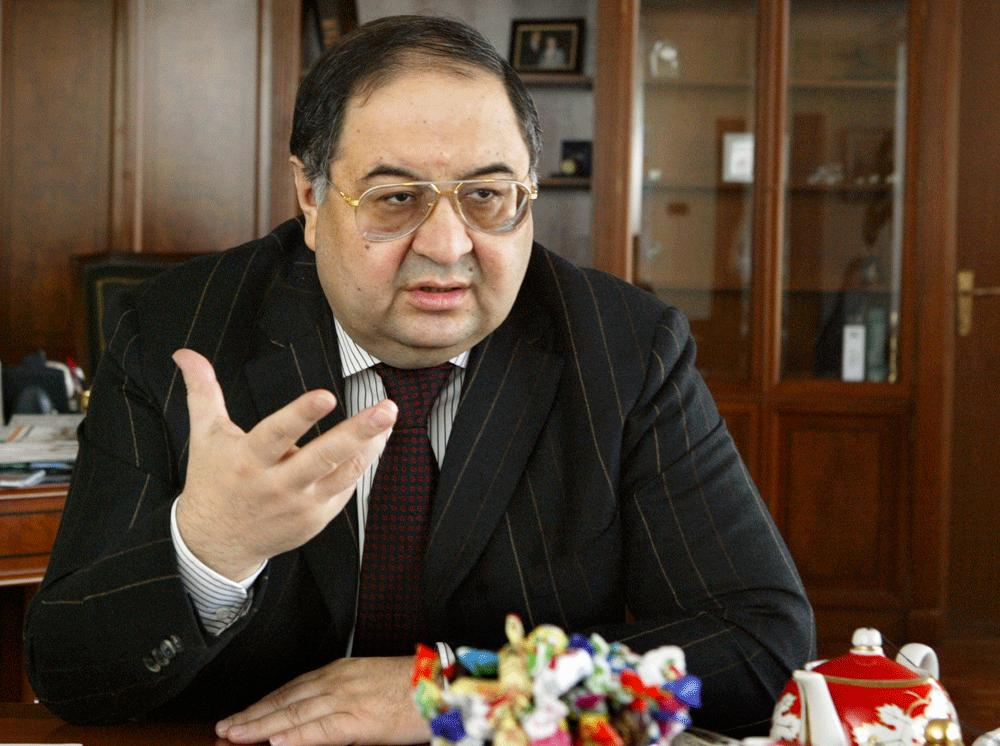Alisher Usmanov.