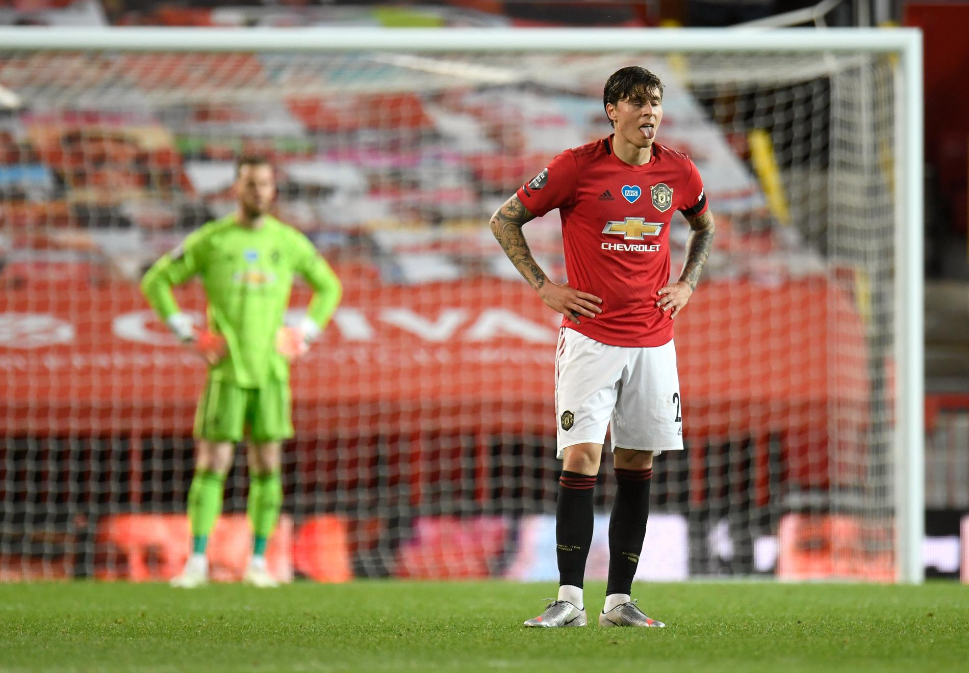 Victor Nilsson Lindelöfs Manchester United är en av klubbarna som vill bryta sig loss. Arkivbild.
