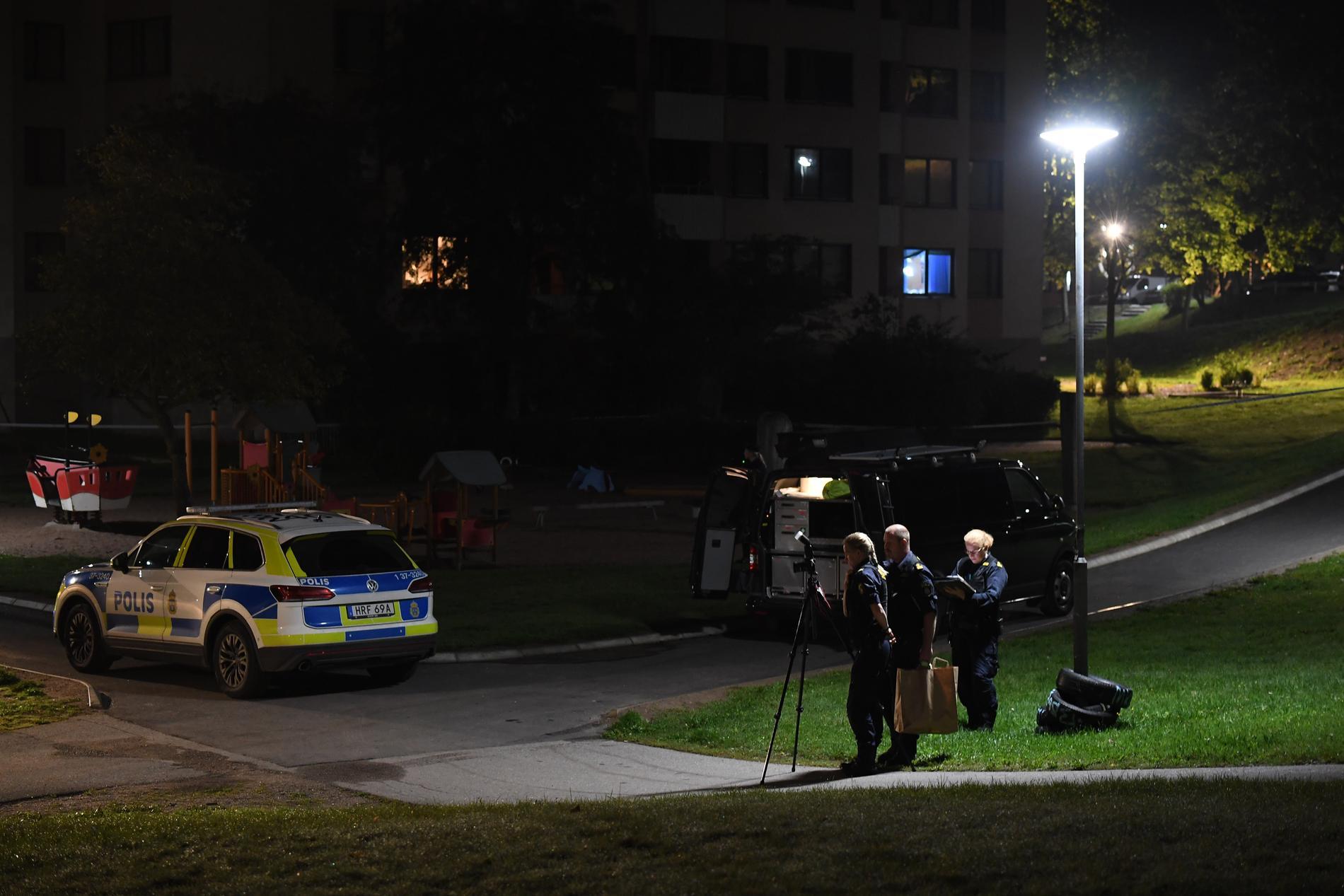 Poliser i Skogås