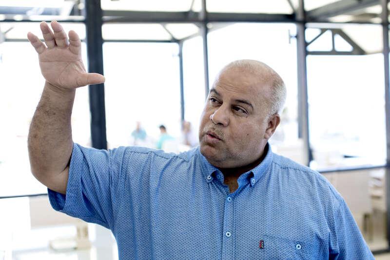 Wael Dahdouh, 50, är byråchef för Al Jazeera i Gaza.