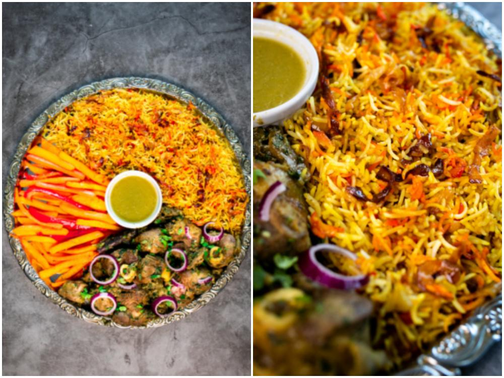 Bariis iyo hilip är smakrikt ris från Somalia