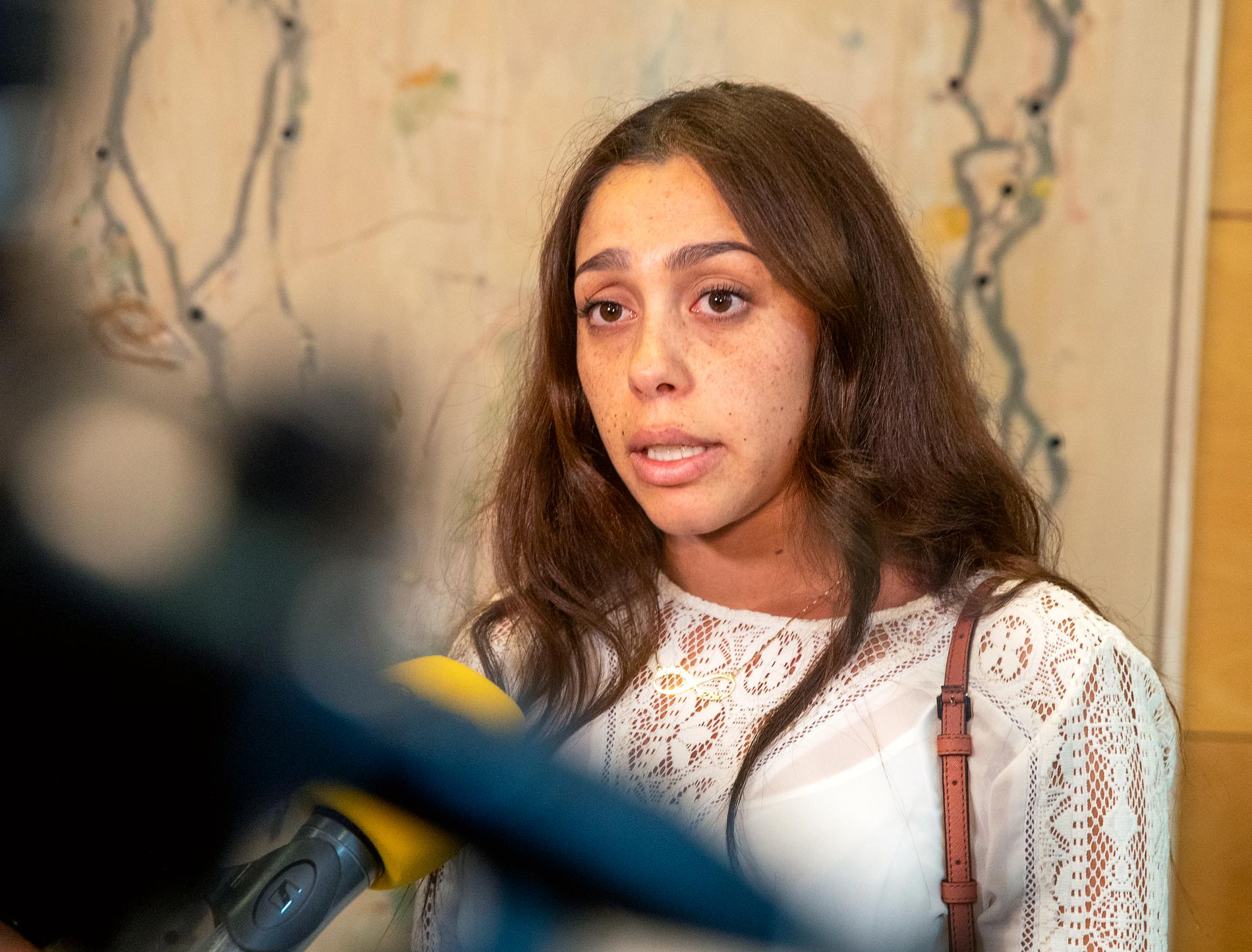 Mohamed Ammouris storasyster Allia Ammouri.