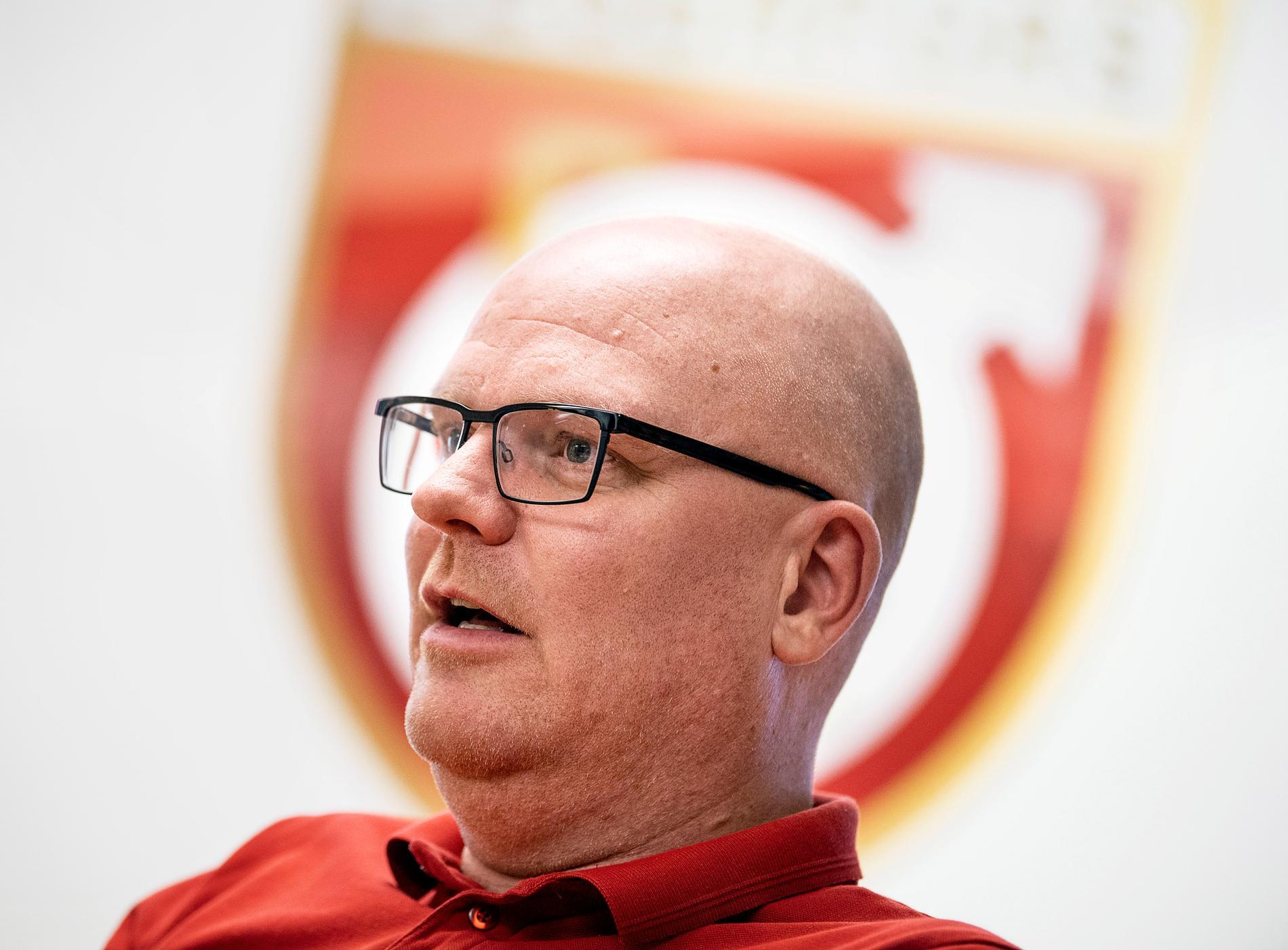 Degerfors sportchef Patrik Werner.