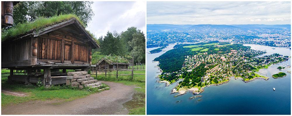 Bygdøy är ett populärt vandringsområde, med leder för både vandrare och cyklister.