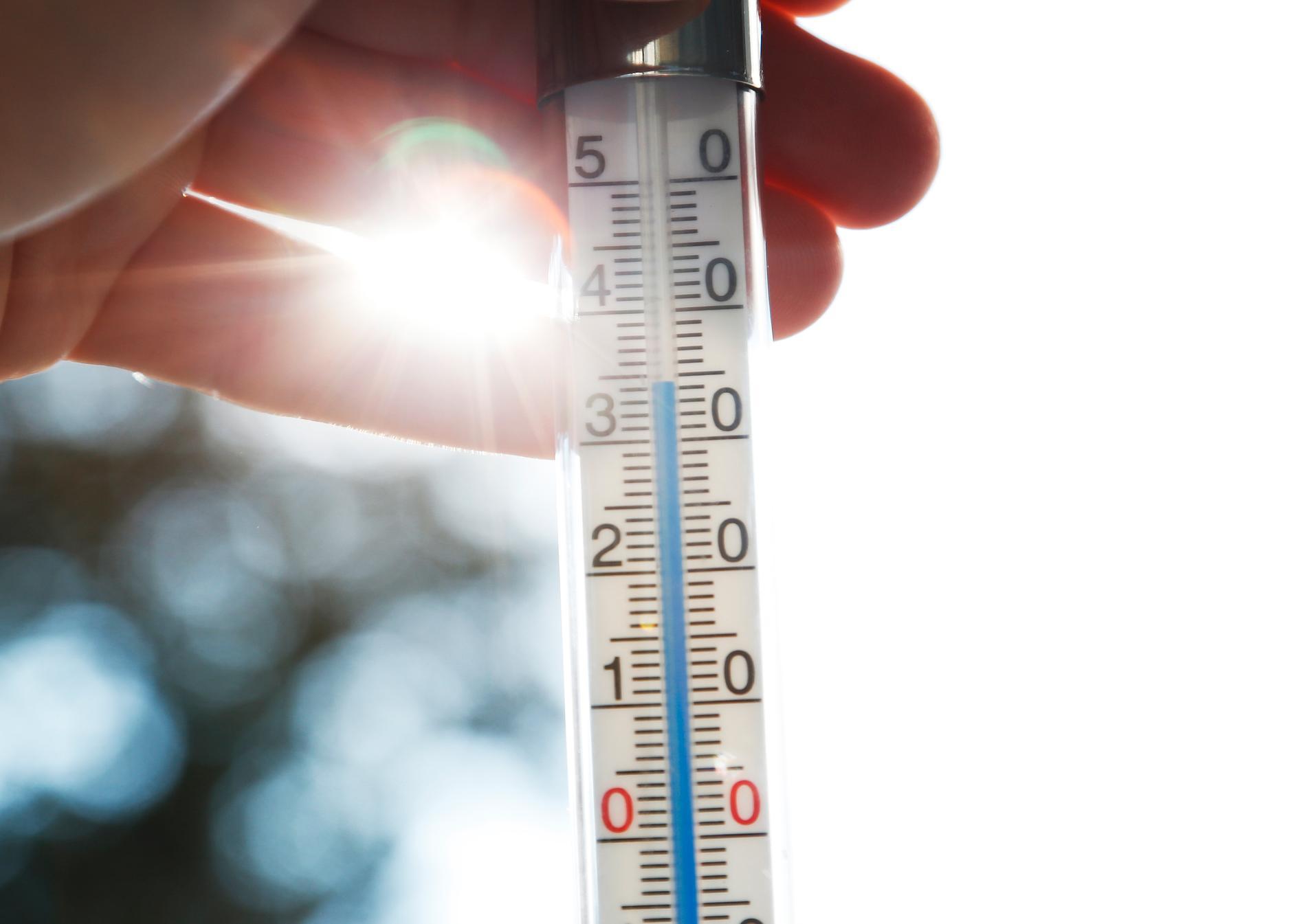 Helgen väntas bli varm i söder. Arkivbild.