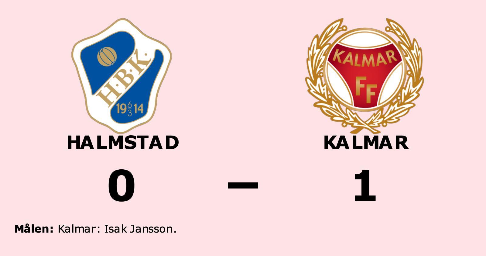 Halmstad förlorade mot Kalmar