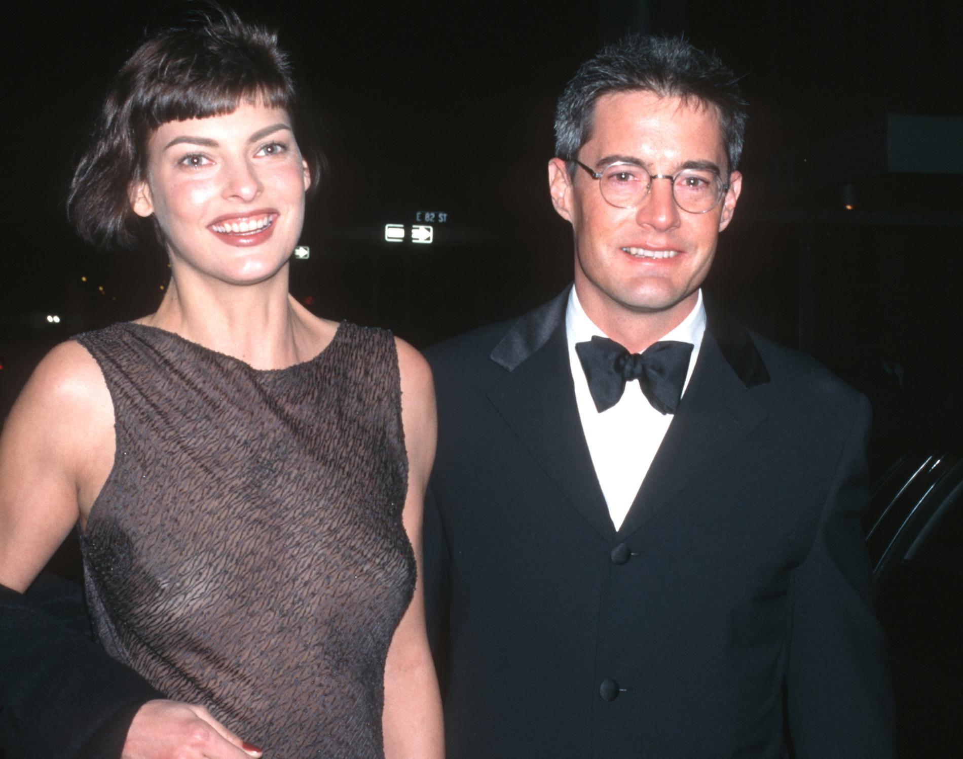 Tillsammans med Kyle MacLachlan 1996.