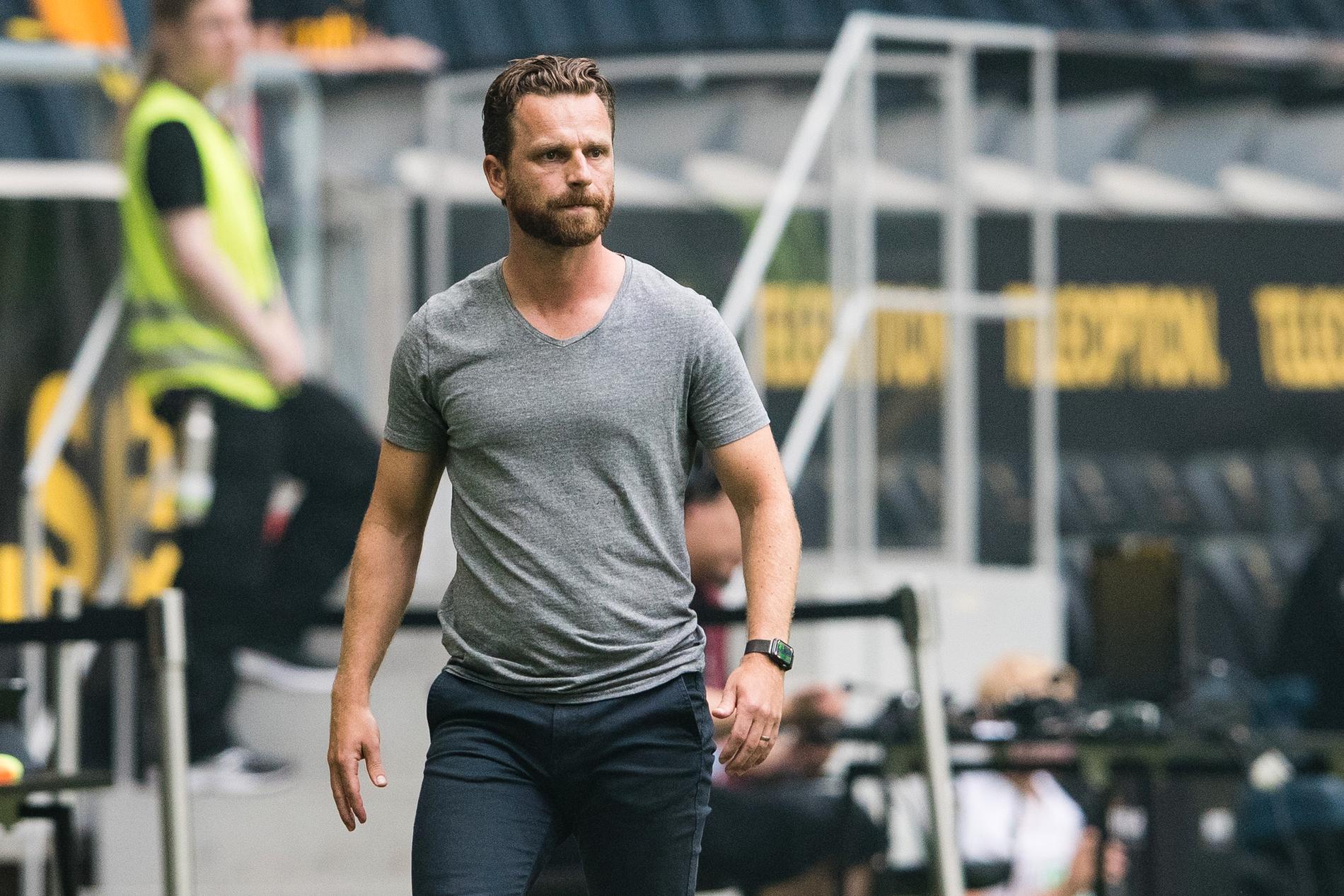 AIK:s tränare Bartosz Grzelak.