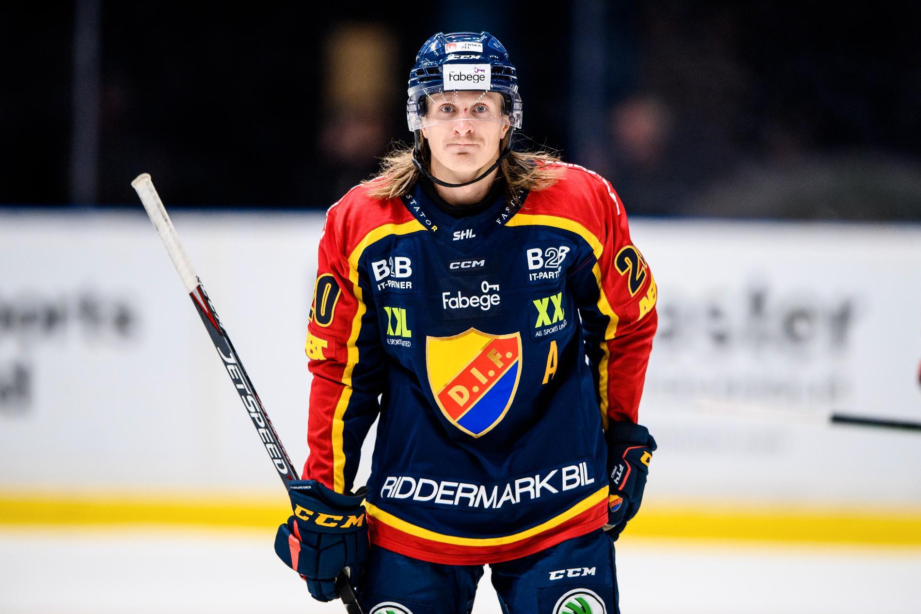 Marcus Sörensen i Djurgården.
