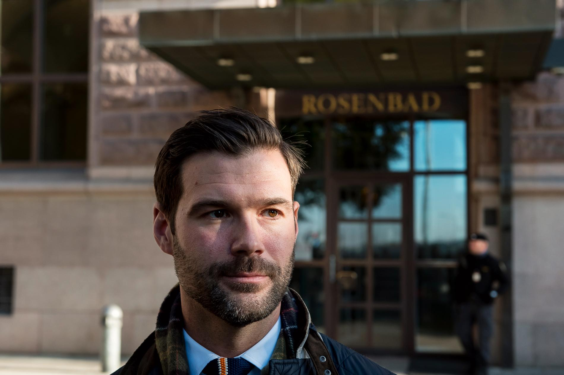 Johan Forssell, Moderaternas rättspolitiska talesperson.