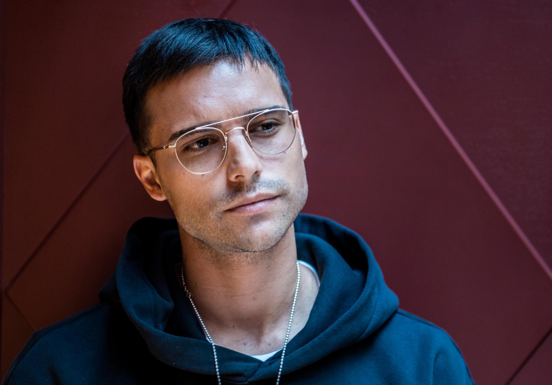"""Eric Saade tävlar i Melodifestivalen 10 år efter segern med """"Popular""""."""