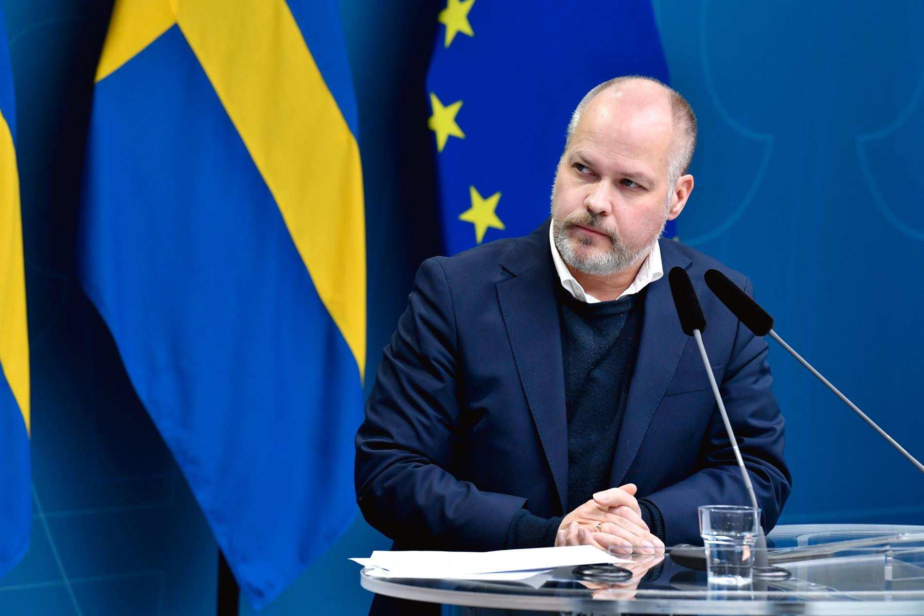 Justitieminister Morgan Johansson (S).