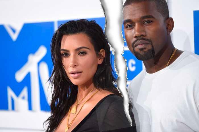 Kim Kardashian och Kanye West vid ett tidigare tillfälle. Nu är sprickan mellan dem synbart tydlig i rapparens twittertirader.