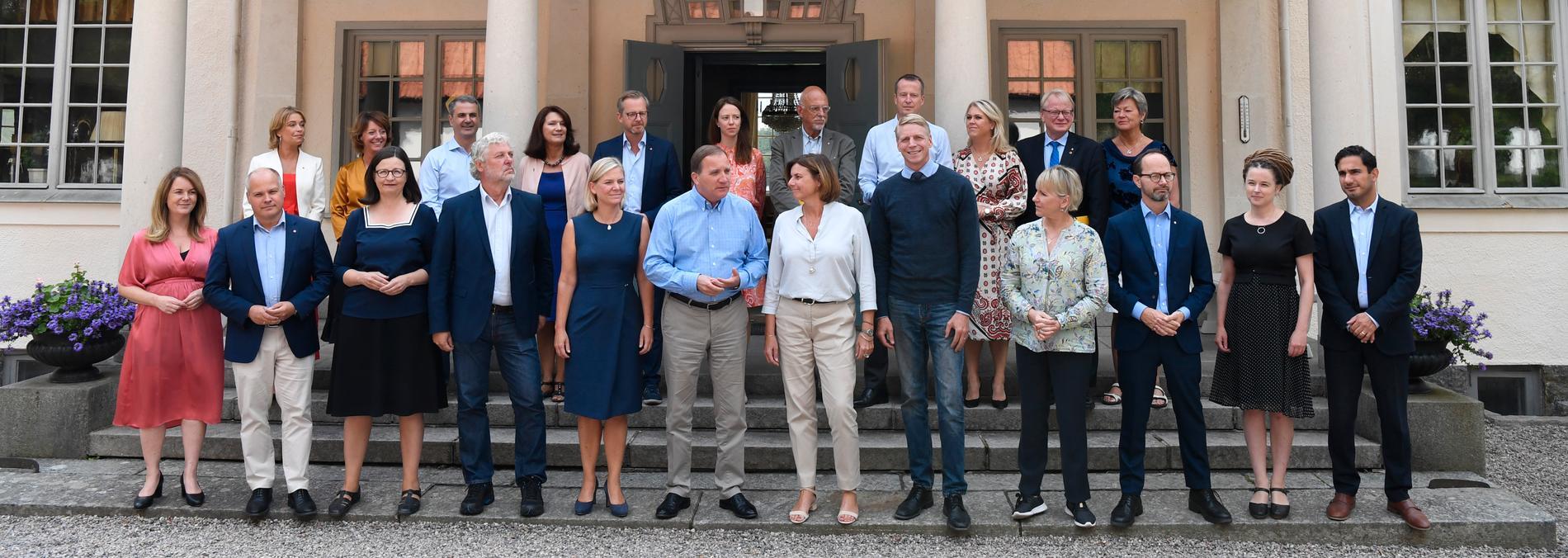 Många verkar känna sig manade att ta över efter Stefan Löfven som partiordförande i Socialdemokraterna, få av dem är kvinnor.