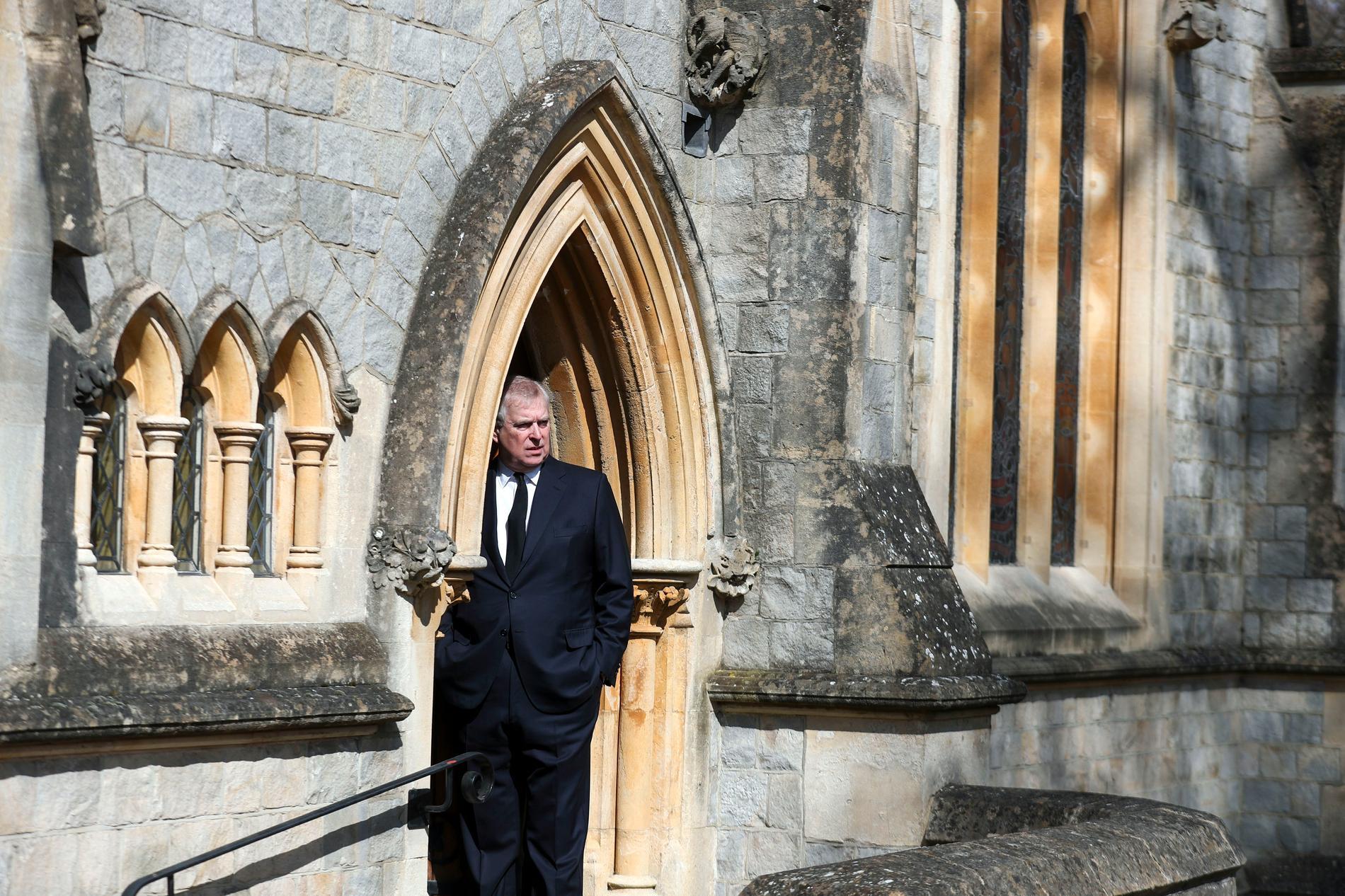 Prins Andrew har tvingats ta en paus från sina kungliga uppdrag. Arkivbild.