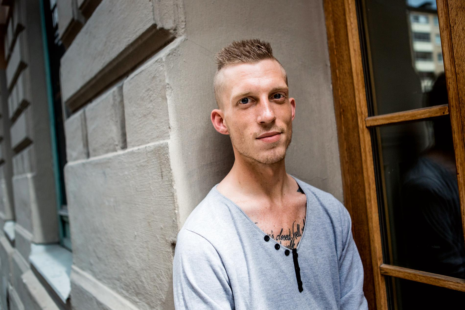 Jesper Söder, som stridit i med kurdiska styrkor i Syrien i flera år, kandiderar för L i Trollhättan. Arkivbild.