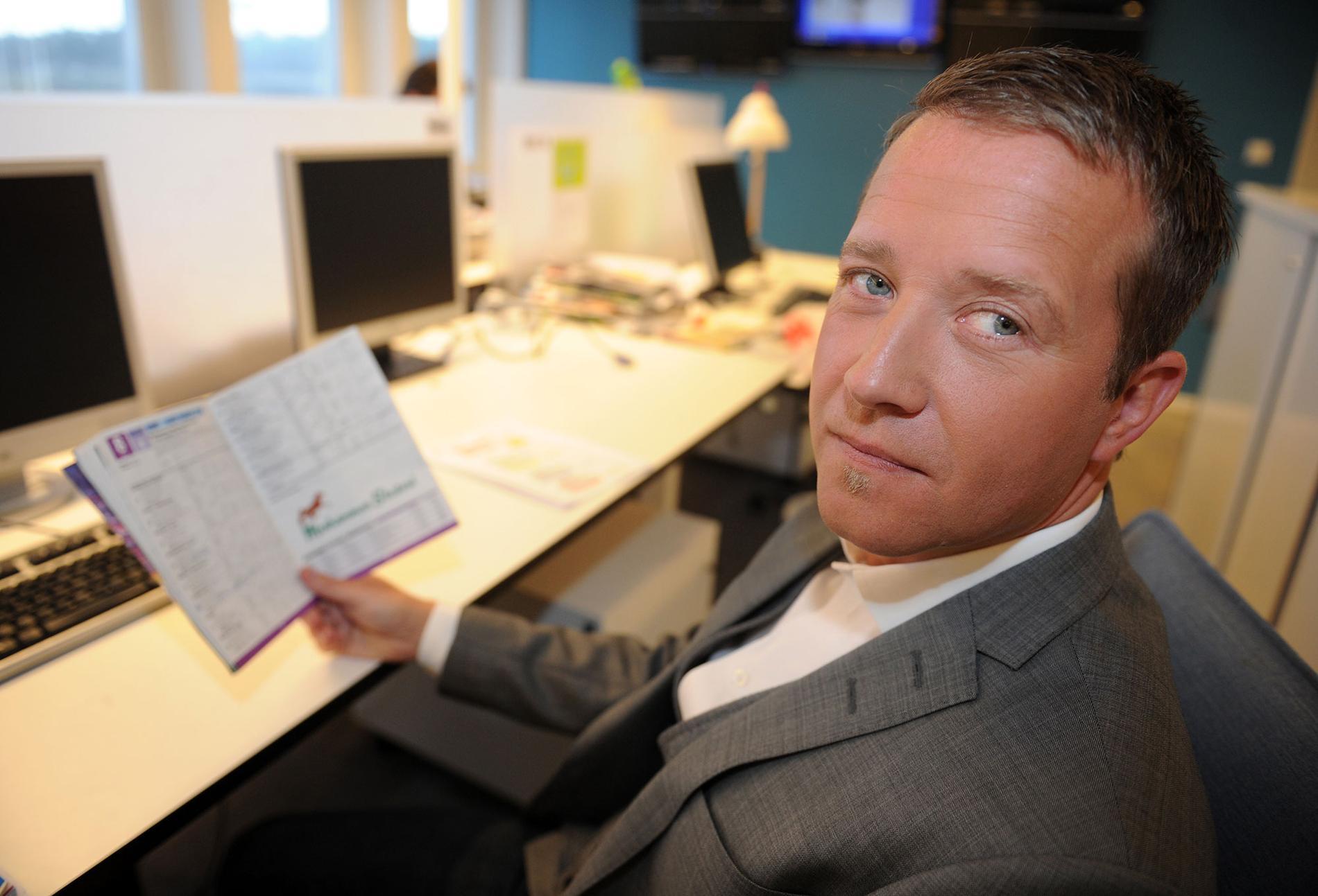 Anders Malmrot lämnade expertrollen i TV4 och är nu sportchef på Solvalla.