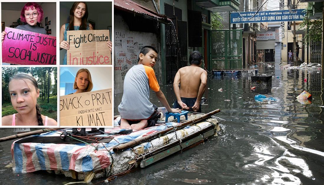 Liknande översvämningar som de i Tyskland och Belgien kunde ses på flera håll i världen under 2020 - i Afghanistan och i Vietnam, med över 190 dödsfall i vardera land, och i Östafrika, med över 430 dödsfall, skriver fyra representanter för Fridays For Future.