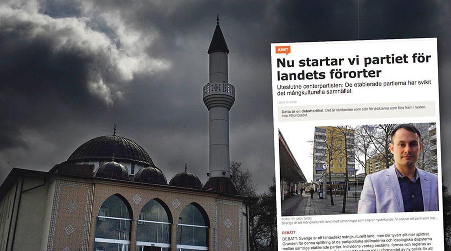 Inställningen att Sveriges förorter skulle vilja representeras enbart av islam är gravt felaktig, skriver debattörerna.
