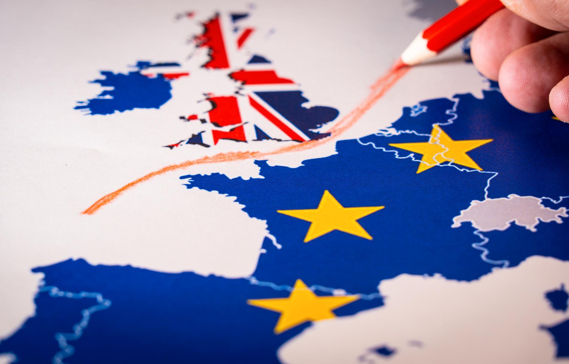 Var fjärde svensks intresse för Storbritannien minskar i och med Brexit.