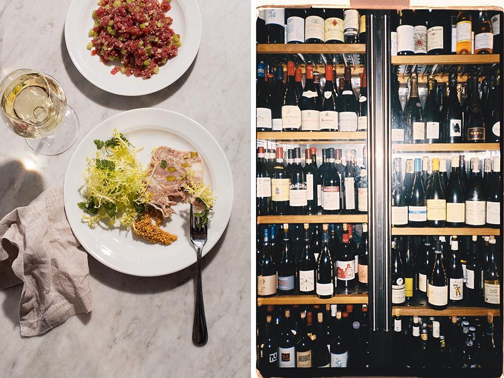 På Babette finns det gott om bra viner som du kan kombinera med smårätter eller pizza.