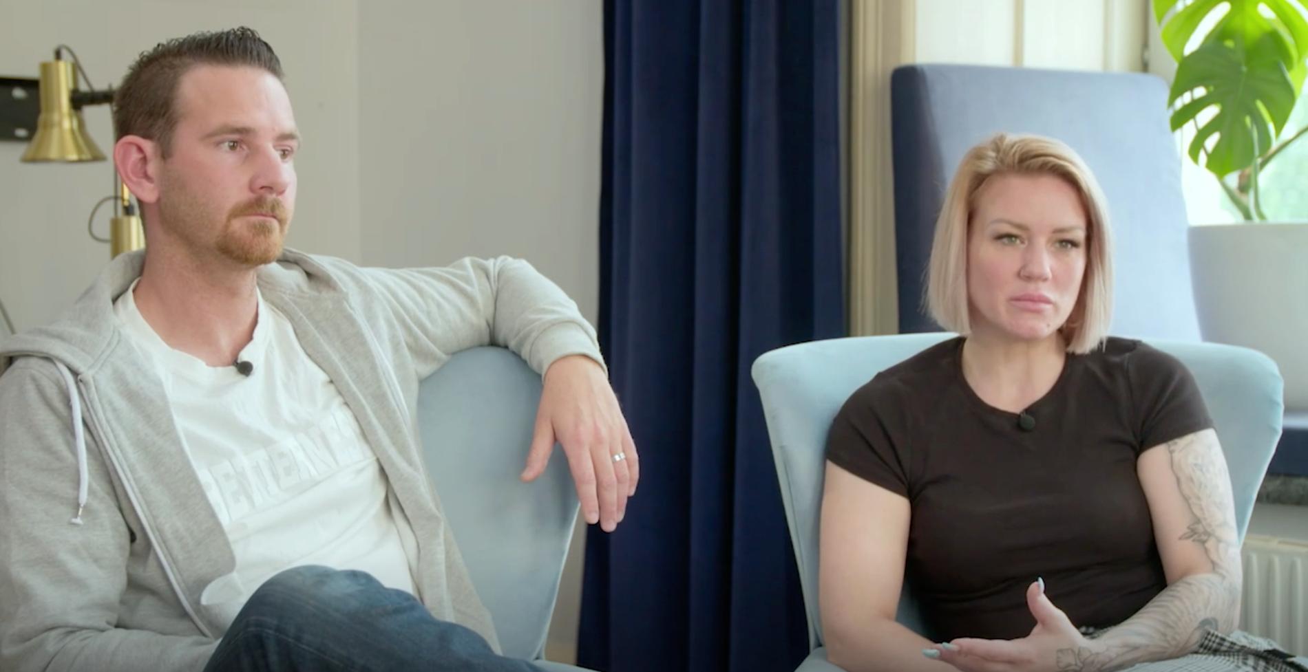 """Sandra och Pierre får hjälp av """"Lyxfällan"""""""