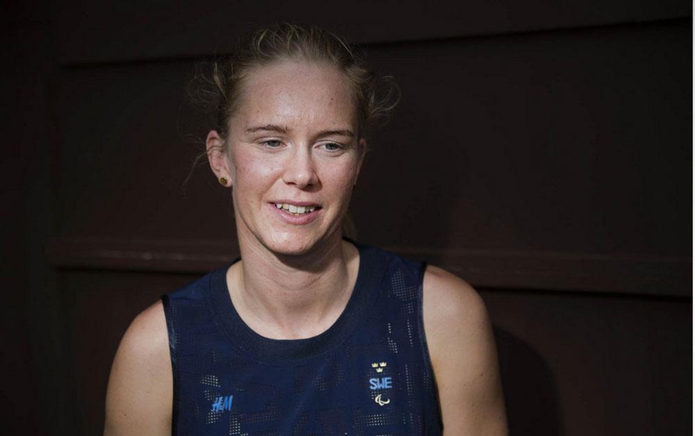 Maja Reichard går in i tävlingarna redan första dagen
