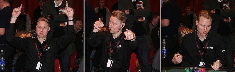 """Det pekar uppåt """"Nalle"""" Hedlund håller låda i Köpenhamn – och spelar bra poker, dessutom."""
