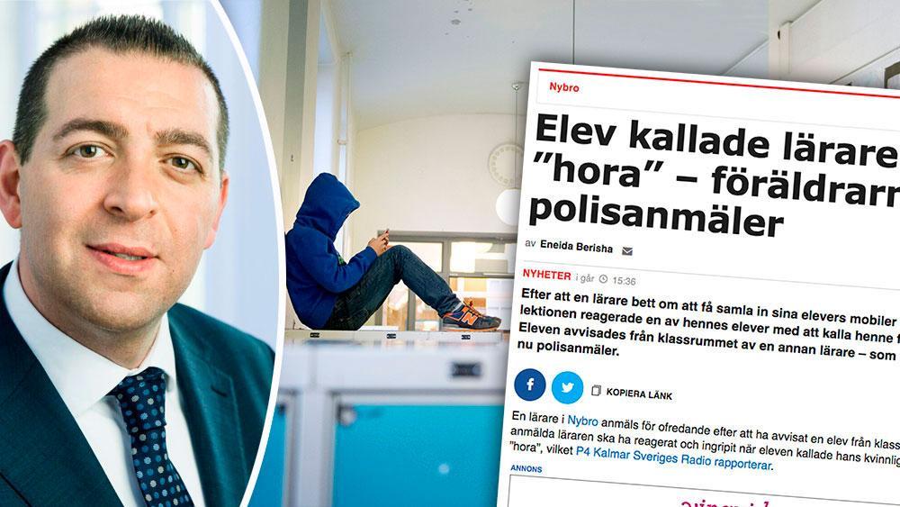 Sverige måste en gång för alla slå fast i skollagen, att det är lärarna som bestämmer i klassrummet och rektor som leder arbetet i skolan, skriver Roger Haddad,  skolpolitisk talesperson  (L).