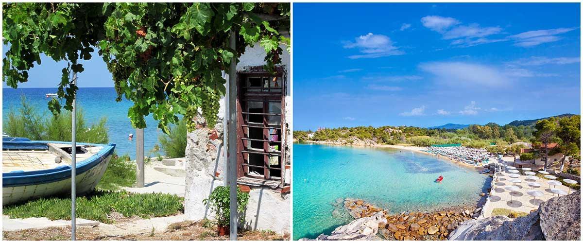 Grekiska pärlan Halkidiki har hela 64,9 kilometer strand och mycket sol.