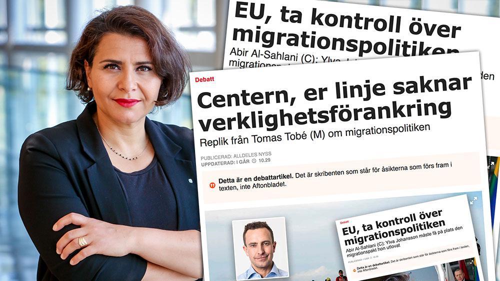 Att, som Tomas Tobé gör, hota med en situation liknande 2015 är både felaktigt och fult. Det sista Europa behöver är att rädsla sprids. Därtill är det inte värdigt ett, åtminstone tidigare, frihetligt parti att kasta runt syndabockar och agitera mot utsatta som flyr, skriver Abir Al-Sahlani (C).