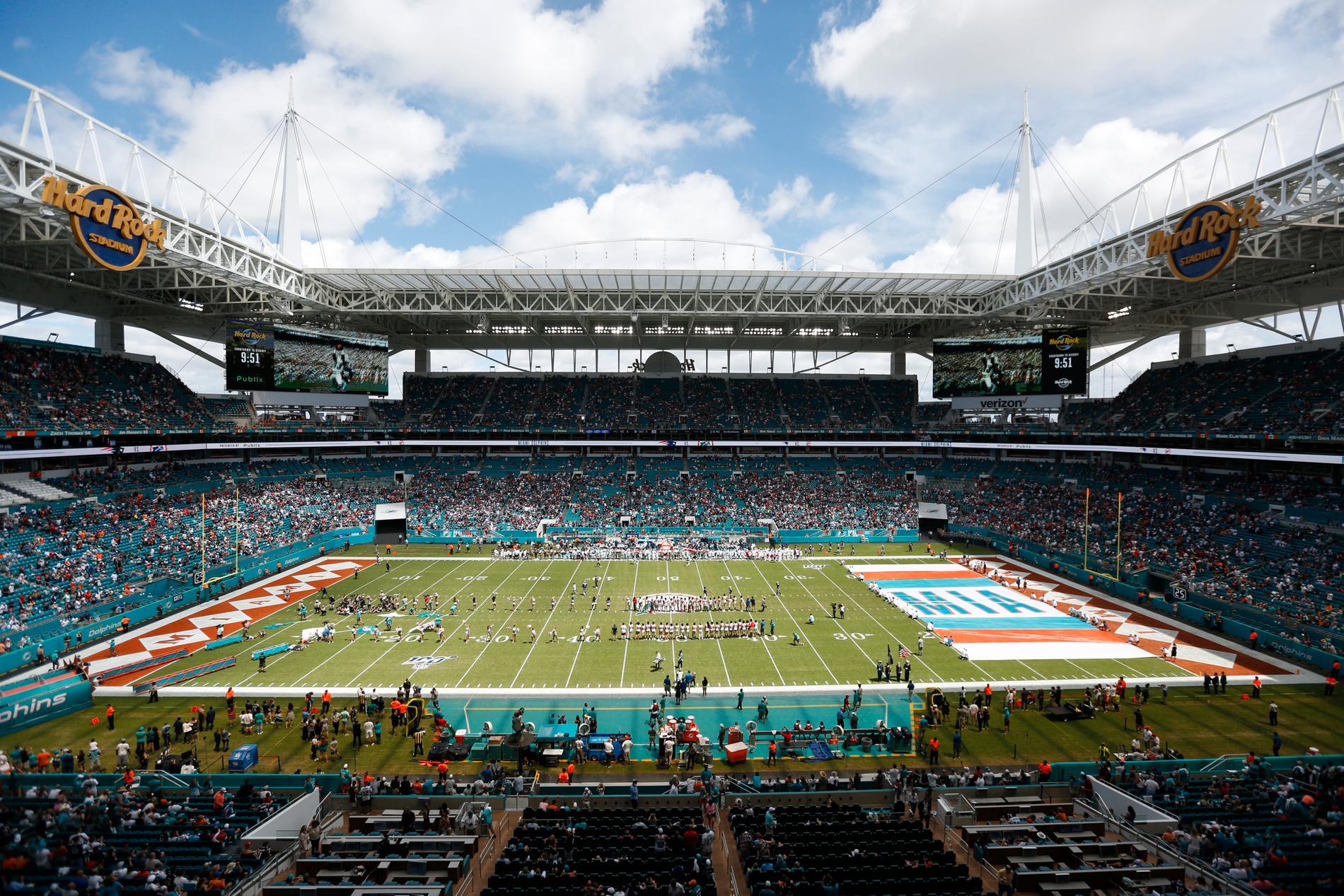 Hard Rock Stadium i Miami