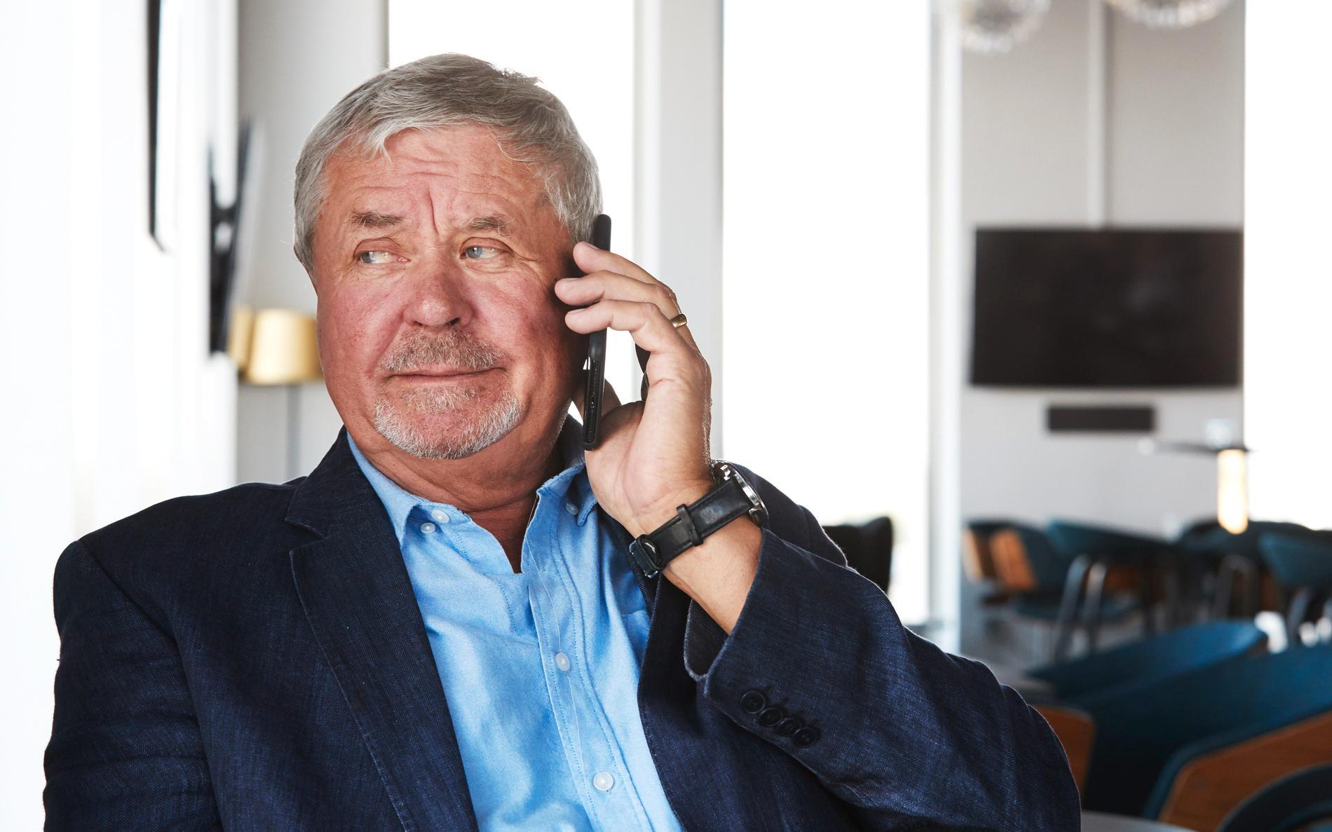 Den skånska näringslivsprofilen Percy Nilsson har åtalats misstänkt för grovt insiderbrott för köp av aktier i fastighetsbolaget Victoria Park våren 2018. Han nekar till brott. Arkivbild.