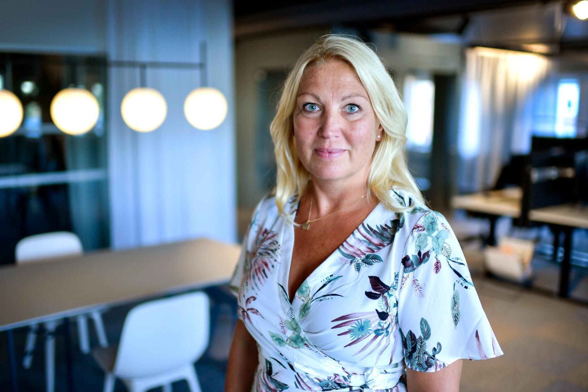 Johanna Jaara Åstrand, ordförande Lärarförbundet.