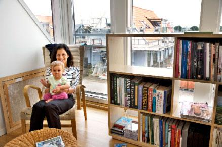 Sophie och dottern Olivia Jacobsson bor på Stavstensudde i Trelleborg.