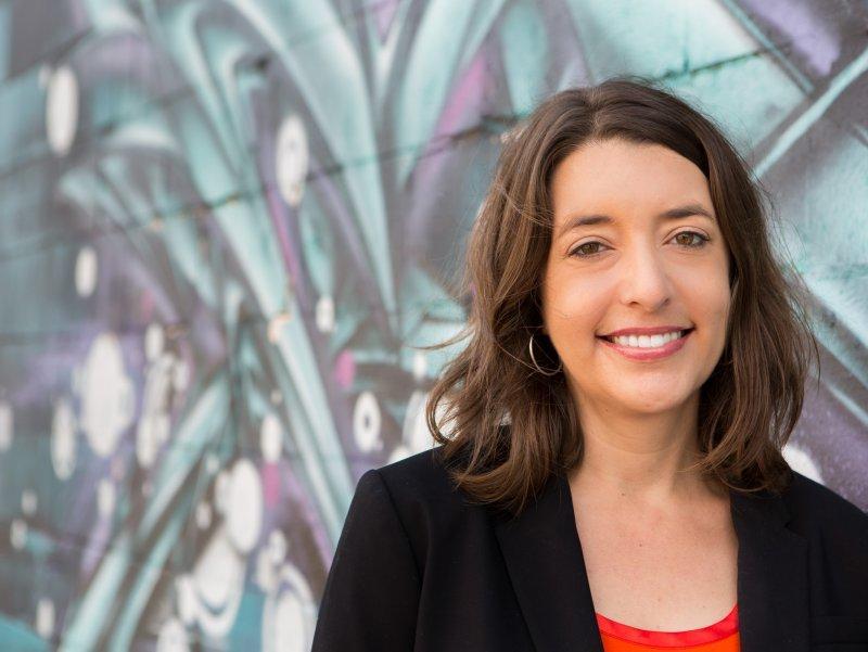 Michelle Erenburg, grundare till kvinnorättsorganisationen Lift Louisiana.