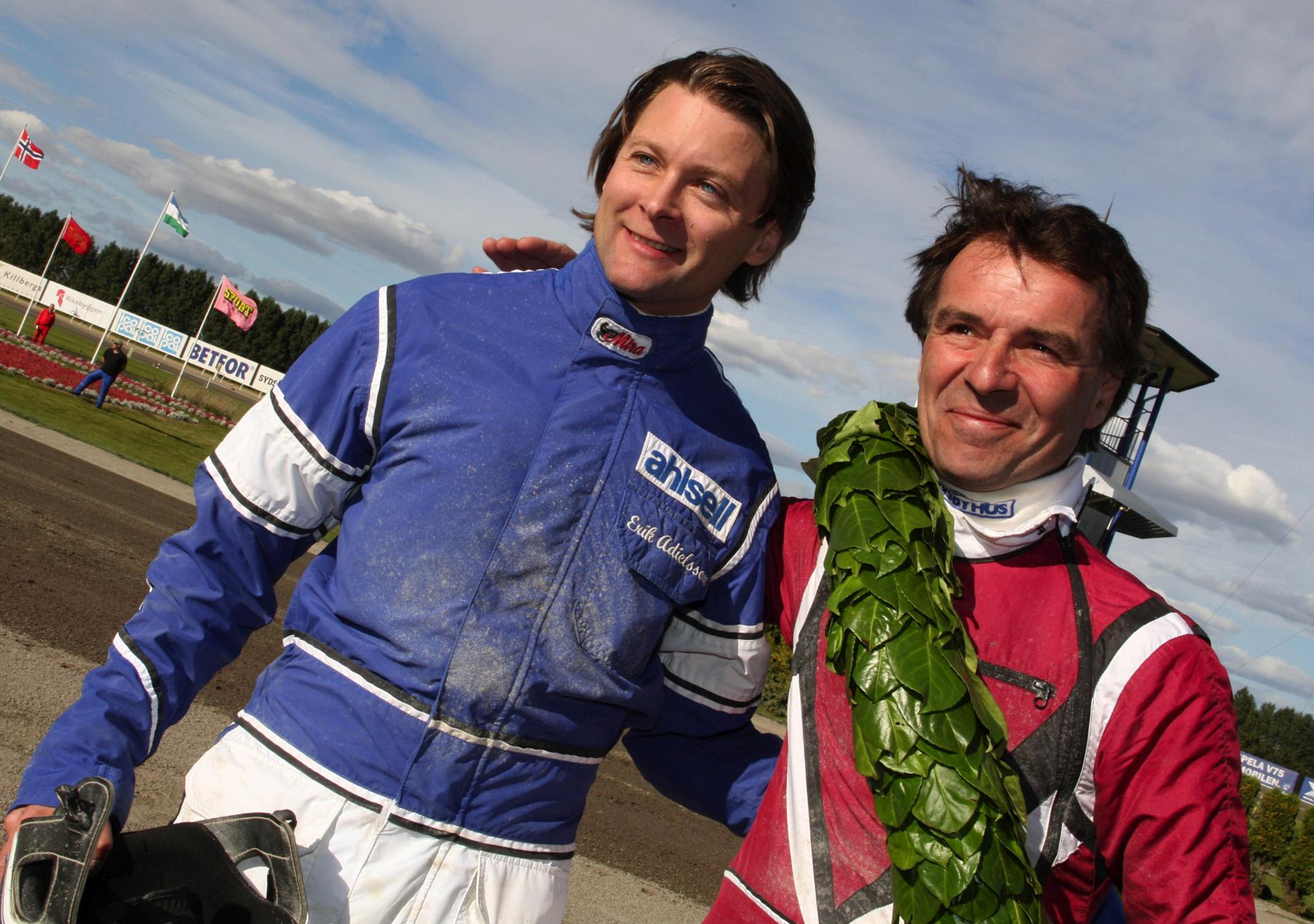 Erik Adielsson och Lutfi Kolgjini 2010.
