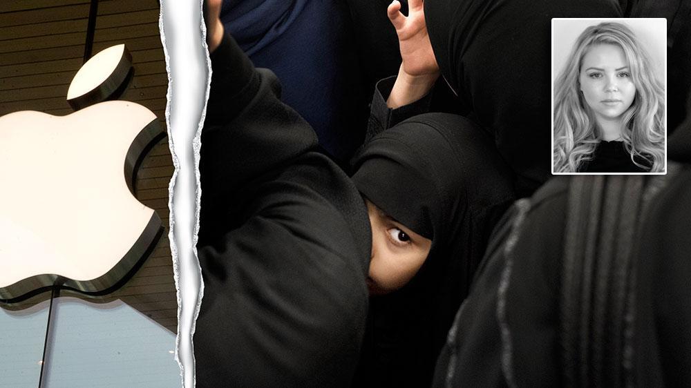 Apple och Google möjliggör att saudiska män kan styra och övervaka kvinnor. Det är mycket oroväckande, skriver Gabriella Ohlzon.