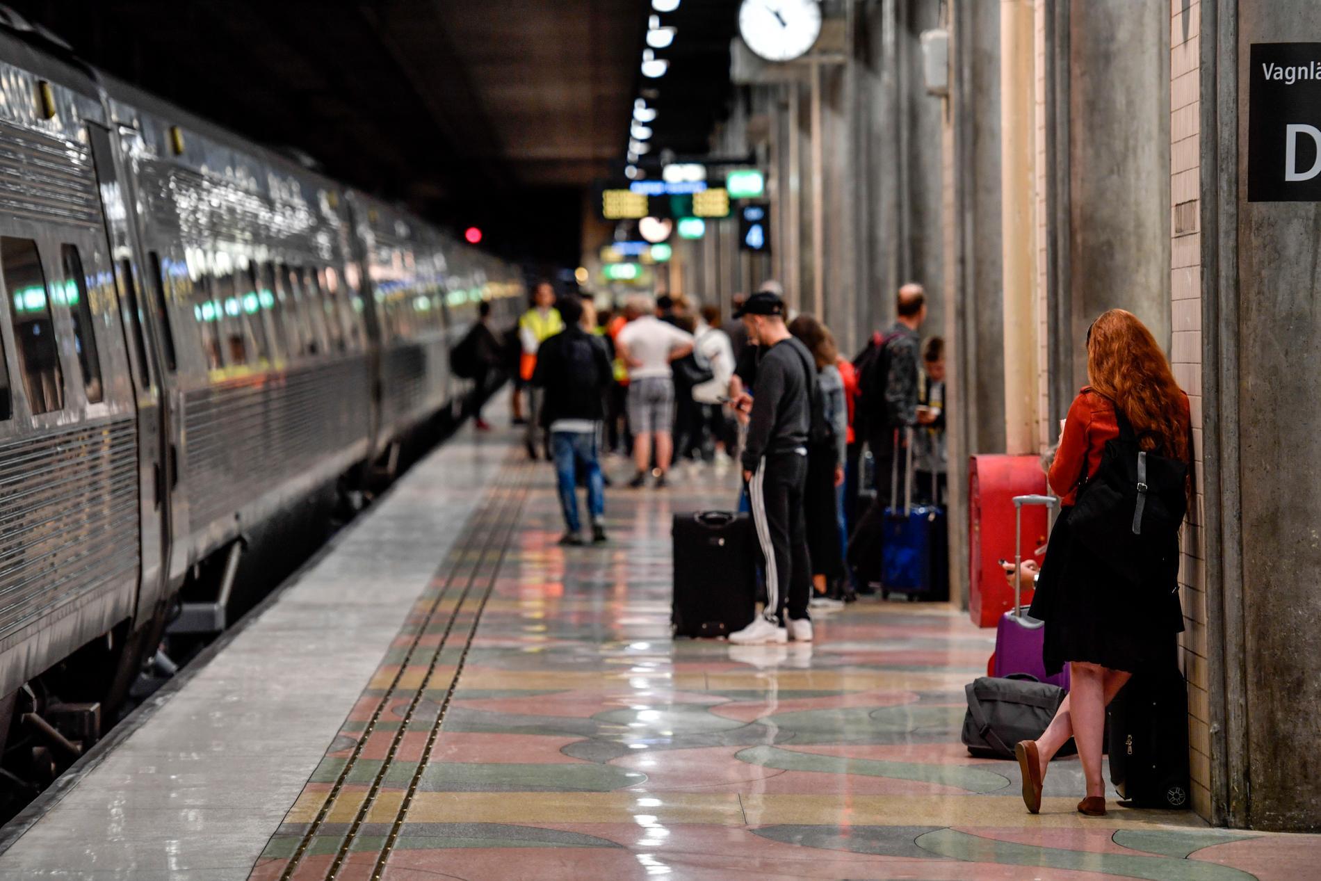 Ytterligare 12000 europeiska 18-åringar får nu chansen att åka tåg på EU:s bekostnad. Arkivbild.