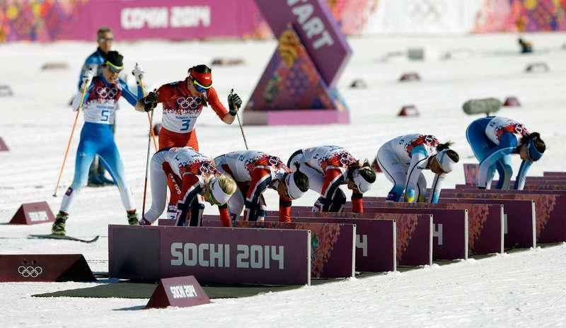 Sverige vill inte att man ska kunna byta skidor på längre lopp.