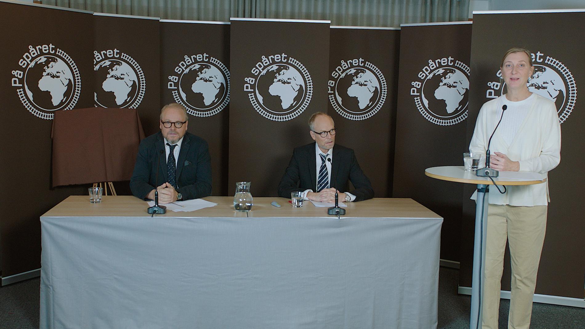 """Driver med Palme-pressträffen. SVT bjuder in till pressträff på onsdag den 13 oktober kl. 19.59 i SVT1. Då presenterar Kristian Luuk årets tävlande grupper i """"På spåret"""" och berättar om utredningen tillsammans med Fredrik Lindström."""