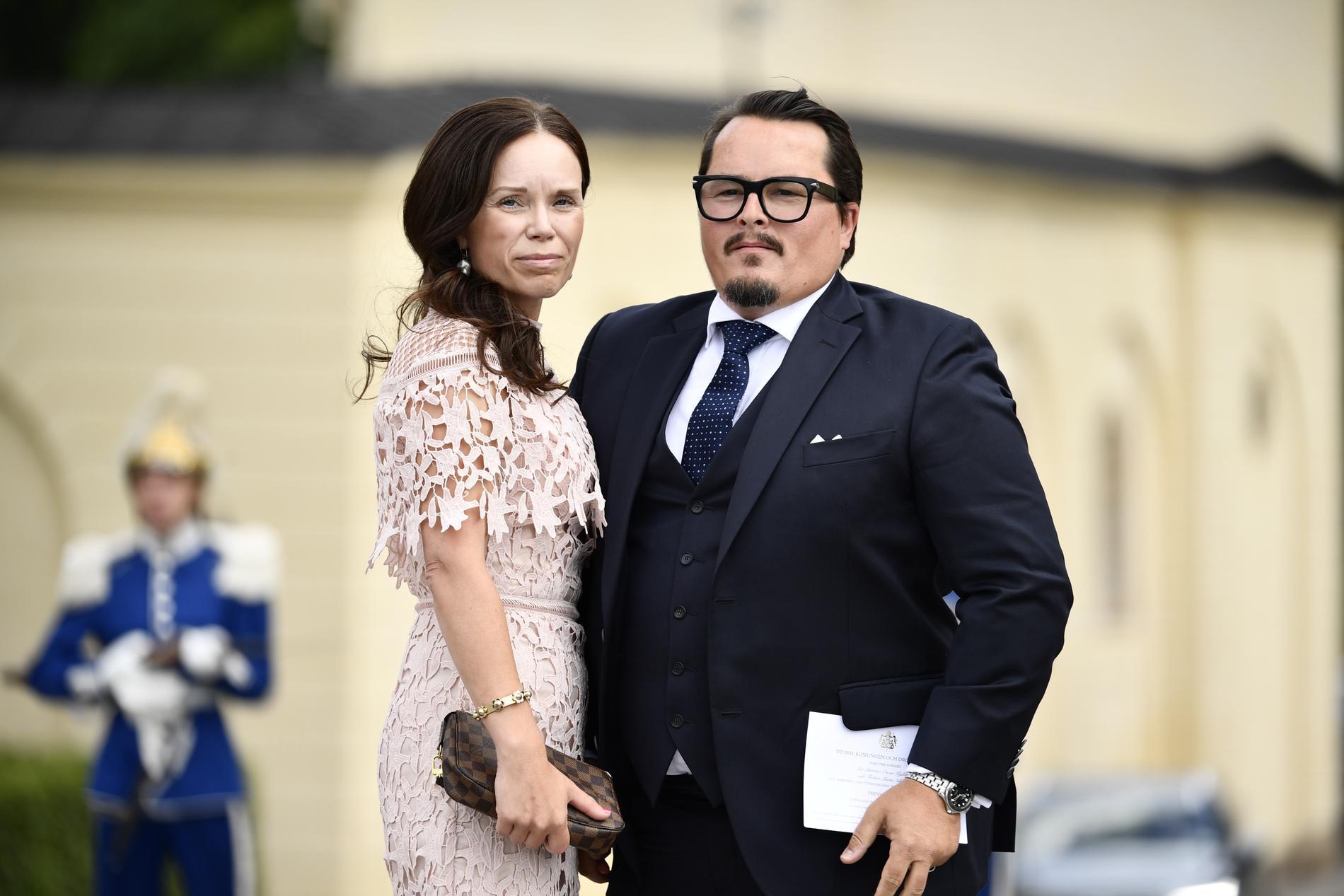 Oscar Kylberg och Maria Nilsson.