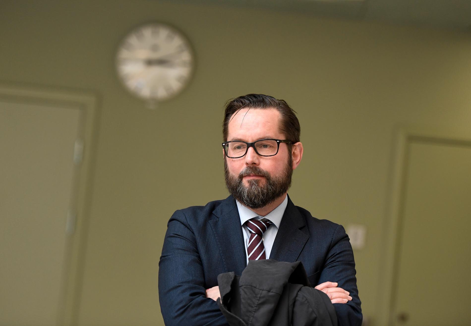 Per Lindqvist, chefsåklagare vid enheten för säkerhetsmål. Arkivbild.