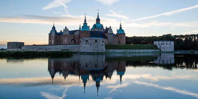 Kalmar slott, både för den som vill ta med utflyktskorg och få en historielektion.