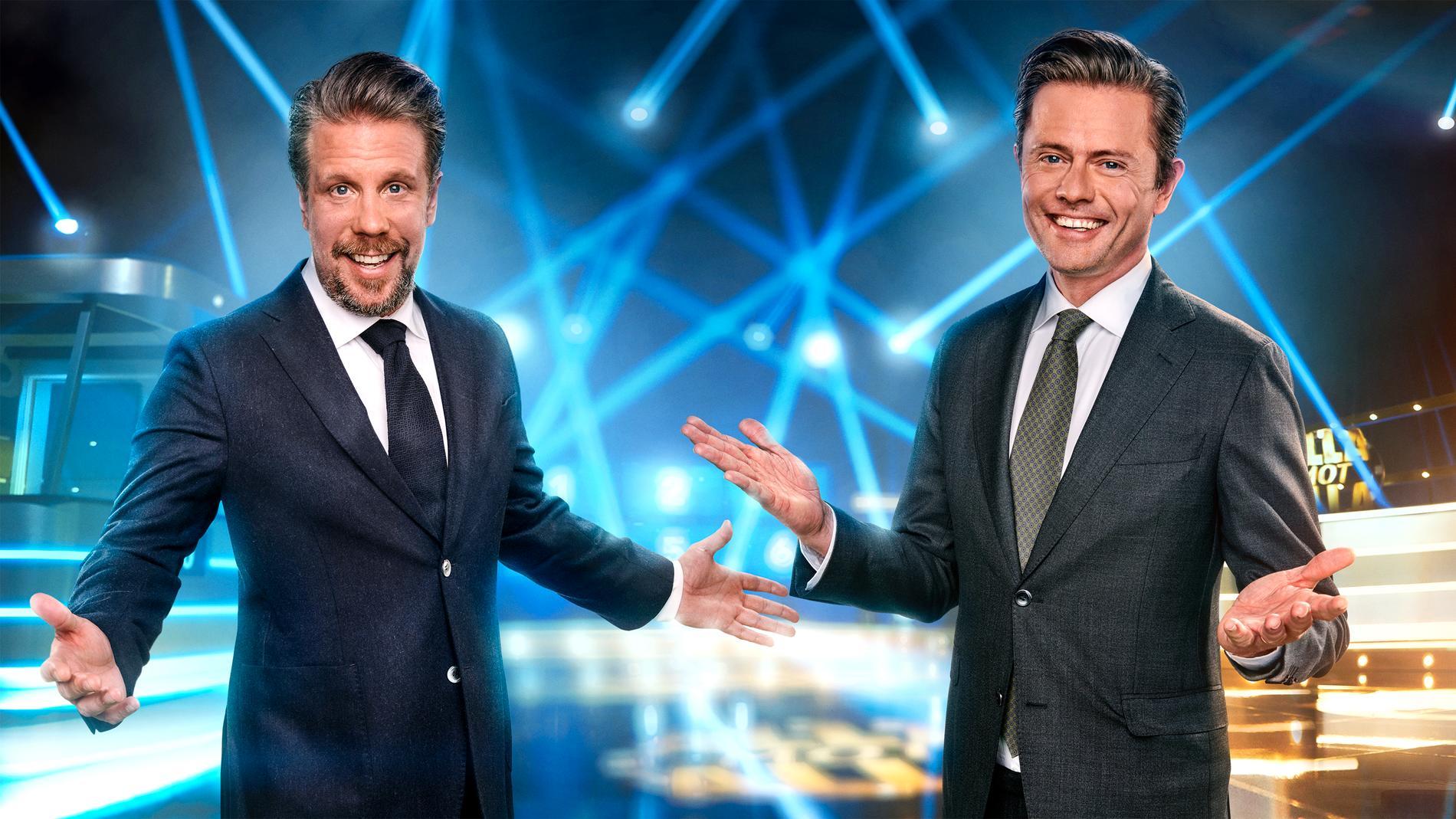 Filip Hammar och Fredrik Wikingsson.